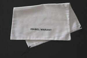 "1 X CUSTODIA PANNO CONFEZIONE LUSSO - DUST BAG ""ISABEL MARANT"" ORIGINALE (45x35)"