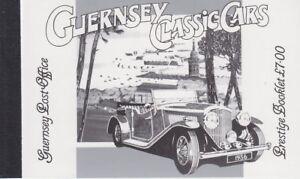 Guernsey 1994 - Classic Cars - Prestige Booklet SB53