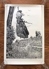 Frankenstein Bernie Wrightson Art Print Signed Numbered Artist Proof Hanging
