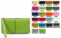 Zip Around Ladies Girls Wristlet Purse Long Wallet Coin Pouch Keys Phone Holder