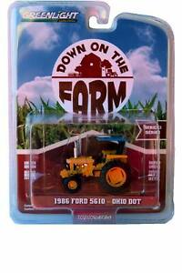GreenLight Down on the Farm 1986 Ford 5610 Ohio DOT Series 2