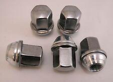 5 New Dodge Chrysler Factory OEM Polished Stainless Lug Nuts Lugs 6036433AA