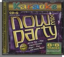 Karaoke CD+G - Now Party Mix - New 8 Song CD! Liquid Dreams, Play, Angel