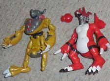 Digimon AGUMAN GUILMAN Parts figure lot
