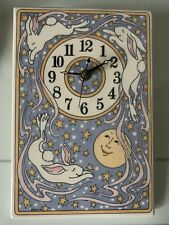 Handmade Pottery Nursery Clock