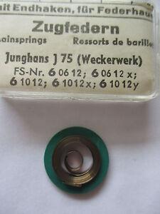 JUNGHANS Feder 2,80 mm Aufzugfeder Zugfeder Uhr Wecker Reisewecker clock spring