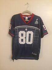 633224ba8 Youth Reebok NFL New York Giants Victor Cruz Super Bowl XLVI Jersey Sz XL  18