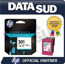 CARTUCCIA HP 301 ORIGINALE TRI-COLORE INK-JET PER HP CH562EE Deskjet 1000...
