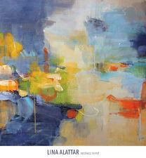 Restless Mind Lina Alattar Abstract Art Print 24x24 Image Conscious
