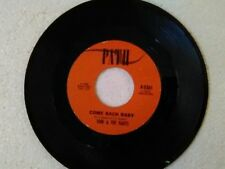 "Toni & The Harts 45 rpm ""Come Back Baby"" PATH 5562"