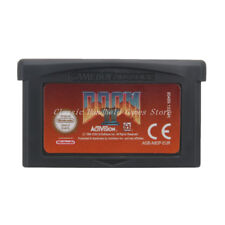 Doom II 2 GBA Game Boy Advance Cartridge EU English