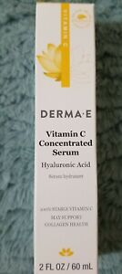 Derma e Vitamin C Concentrated New Serum - Full Size 2oz EXP 7/23