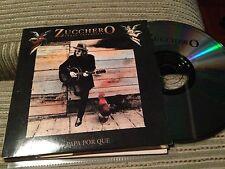 ZUCCHERO SPANISH CD SINGLE SPAIN 1 TRACK PAPA POR QUE CARD SLEEVE FITO PAEZ