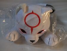 Okami den Chibiterasu Wolf plush Pillow e-CAPCOM Limited Edition NEW Rare!