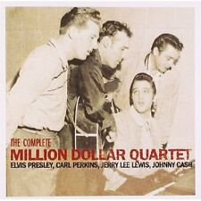 ELVIS PRESLEY/PERKINS/LEWIS/CASH COMPLETE MILLION DOLLAR QUARTET CD NEW