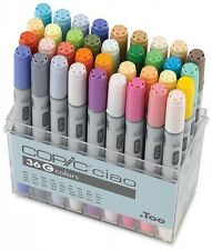 Too Copic Ciao Markers 36 Colors Set C New Free Shipping w/Tracking Manga Anime