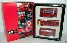 EFE 1/76 Scale - London Transport Museum Bus Set - RT / RM / Leyland National