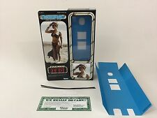 "custom Star wars rotj 12"" princess leia slave box + inserts modern ver1"
