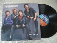 "Bob Seger & The Silver Bullet Band  ""Like A Rock"" LP  Capitol Records PT-12398"