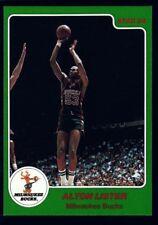 """ALTON LISTER $15+ MINT BUCKS 1984-85 84-85 STAR ARENA CO CARD #7 MILWAUKEE """"GEM"""""""