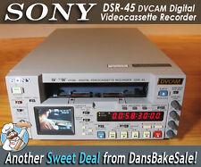 Sony DSR-45 DVCAM Digital Videocassette Recorder in Excellent Condition