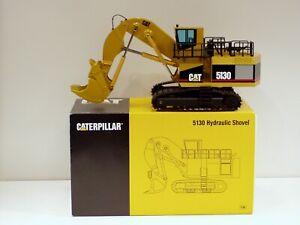 """Caterpillar 5130 Shovel - """"LAUNCH EDITION"""" - 1/50 - NZG #391 - MIB"""