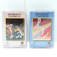HOOKED ON CLASSICS Volume 2 & 3 Vintage Cassette Tapes