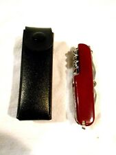12-blade/tool Knife-Made In China w/Pouch