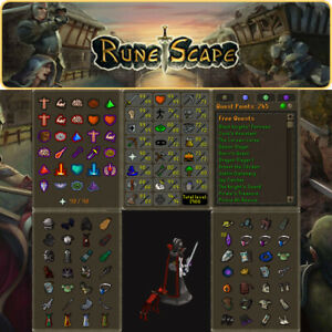 Max Combat Main   1966 Total   245 QP   99 Slayer   Pets  OSRS Delivery 24 hours