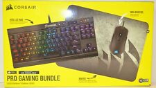 Corsair Pro Gaming Mechanical Keyboard and RGB Mouse Bundle 2020 Edition USED