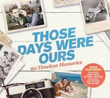 Those Days Were Ours - New 3CD Album - Pre Order - 23rd February