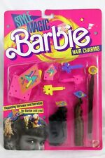 NRFB!! Original 1988 BARBIE Style Magic Hair Charms Barrettes Mattel 1616 MIP!!