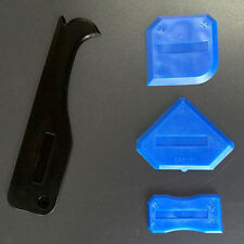 Plastic Grout Finish Silicone Caulking Tool Scraper Sealant Spatula