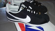 DS Nike cortez Nylon compton Size 8.5 Black White Gold Eazy E