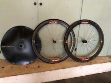 Zipp 303 Tubular Wheel Set, 9/10 Speed, 700c, Tires