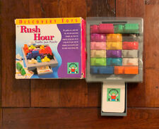 Discovery Toys RUSH HOUR Traffic Jam Puzzle Classic Brain Teaser Toy Complete