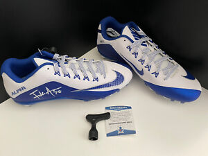 Frank Gore Autographed Cleats- Authenticated- Bills, 49ers
