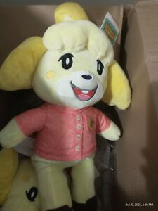 Animal Crossing x Build-A-Bear Isabelle Bundle With Theme Music Brand New!