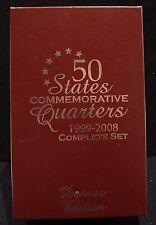 50 States Commemorative Quarters 1999-2008 Complete Set Denver Edition