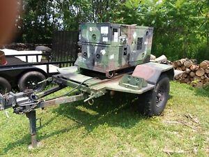10kW Diesel Generator-Trailer, US Military