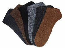 Six Alpaca Men Socks Winter Boot Heavy Warm Thermal Comfortable Outdoor Pack Mix