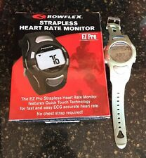 Bowflex Strapless Heart Rate Monitor EZ Pro Watch ECG Water Resistant Green