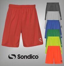 Mens Sondico Core Sports Shorts Football Training Bottoms Sizes from S to XXXXL