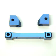 ST Racing Concepts Alum. Rear Hinge-pin Mount Traxxas 4Tec 2.0 (Blue) ST8334RB