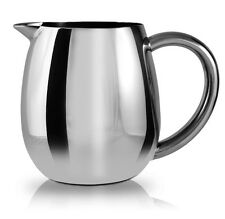 Grunwerg Cafe Ole Everyday Milk Jug 18/10 Stainless Steel Dishwasher Safe