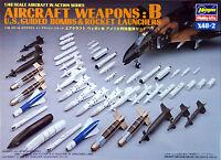Hasegawa X48-2 AIRCRAFT WEAPONS B U.S. BOMBS 1/48 scale kit