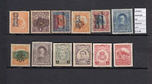 STAMPS LOT MEXICO MH*  (L43821)