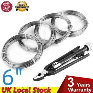 "6"" Safety Wire Twist Twisting  Lock Pliers Tool Set Auto Wires Locking"