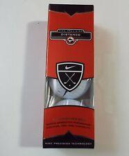 Nike Precision Distance Brand New Golf Balls 3 ball Sleeve Vintage