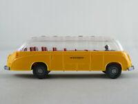 """Wiking 730 Setra S8 (1967) """"DEUTSCHE BUNDESPOST"""" in gelb 1:87/H0 NEU/unbespielt"""